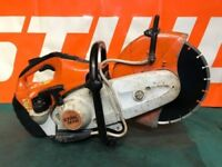 STIHL TS410 DISC CUTTER SAW WITH NEW BLADE 2015 MODLE REFUBISHED