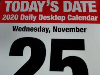 "TF Publishing, 2020 Todays Date Daily Desk Calendar 5.5"" x 5"