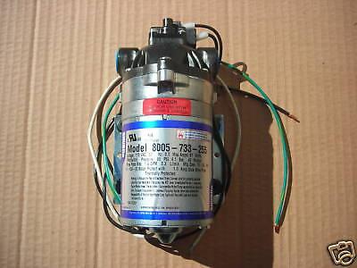 Shurflo Pump 115v 60psi 1.56 Gpm 8005-733-255 New
