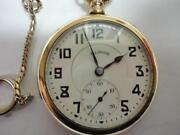 Illinois Pocket Watch 17 Jewel
