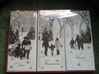 120 CHRISTMAS CARDS ASSORTED 4 BOXES OF 30