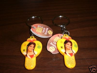 Two Gabriella High School Musical 2 Torch Light Keyring