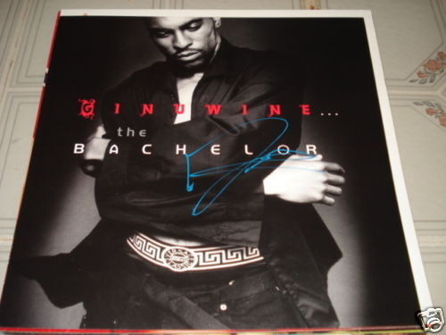 Ginuine Signed Autographed Promo Lp Photo Flat 12x12