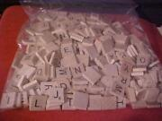 Scrabble Tiles Lot