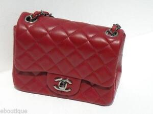 Chanel Mini Bag | eBay : red quilted chanel bag - Adamdwight.com