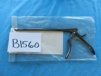 Codman Orthopedic Spine Opti-length 5mm 40 Deg Up Lumbar Rongeur 67-7276new
