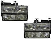 96 GMC Sierra Headlights