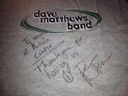Dave Matthews Signed Poster