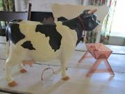 Vintage Toy Cow