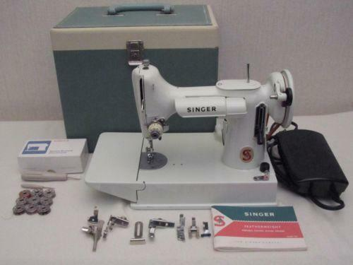 Singer 40K Machines EBay Gorgeous 1951 Singer Sewing Machine Ebay