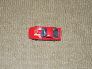 1984, ROAD CHAMPS, RED CHEVY 84, DIECAST METAL VEHICLE