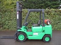 Mitsubishi Gas/LPG Counterbalance Forklift Truck