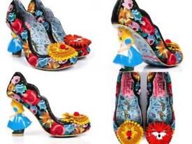 womans irregular choice shoes