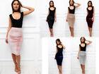 Velour High Waist High Waist Skirts for Women