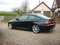 BMW 3 series coupe M sport 320i 2009