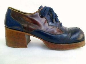 Mens Vintage Platform Shoes fe865f0281
