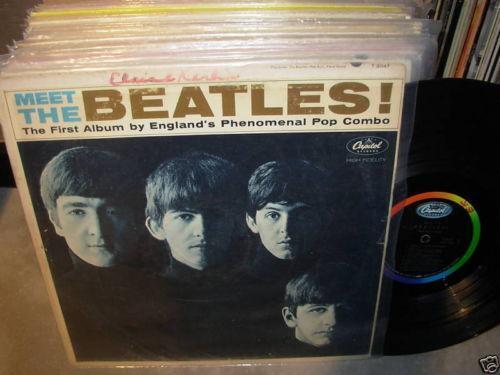 meet the beatles 1st pressing pretenders
