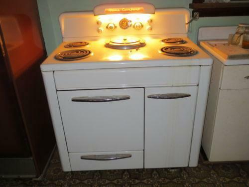 Antique General Electric Range Stoves ~ Vintage electric stove ebay