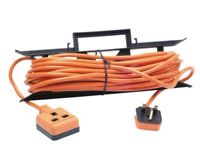 NEW MASTERPLUG 15 METRE HEAVY DUTY OUTDOOR CABLE EXTENSION LEAD PLUG LEICESTER