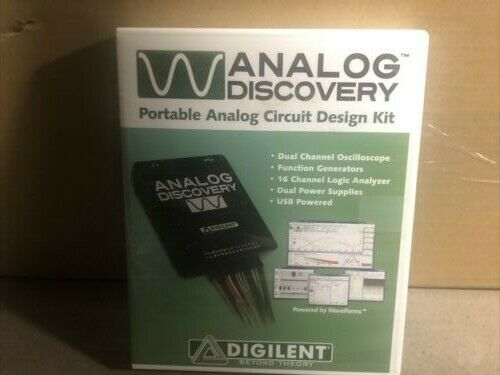 Analog Disocovery Portable Analog Circuit Design Kit by Digilent D494160
