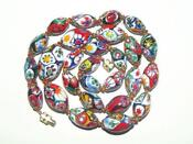Venetian Millefiori Bead Necklace
