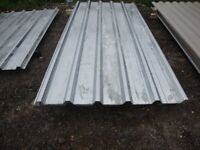 brand new 18ft long galvanized box profile roofing sheets