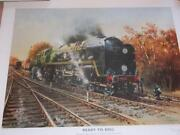 Terence Cuneo Signed Print