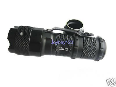- Hugsby P2 14500 AA CR123A CREE XR-E 3-mode LED Flashlight 200 Lumens Lamp Torch