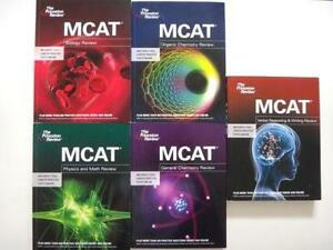 The Princeton Review TPR MCAT Review Book Set Like new London Ontario image 1