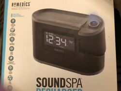 Homedics SS5080 Sound Spa Recharged W/8 Nature Sounds & Projection Alarm Clock