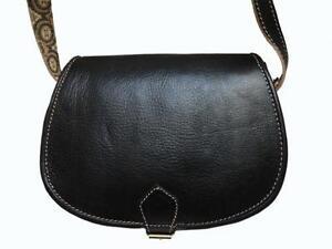 Vintage Leather Saddle Bags