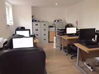 **RARE PRIVATE SECOND FLOOR OFFICE TO RENT - SHOREDITCH E1 NR WHITECHAPEL/TOWER HAMLETS/ALDGATE**