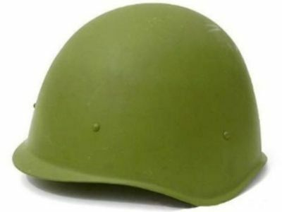 ORIGINAL RUSSIAN STEEL HELMET SOVIET ARMY MILITARY WWII SSH-60 TYPE 1950-70! NEW