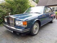 1988 Rolls Royce Silver Spirit top spec Cream Leather/Carpets MOT, bargain classic