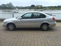 TOYOTA COROLLA 1.4 PETROL 5 DOOR 2001, LOW MILEAGE FOR THE YEAR, EXCELLENT RELIABLE FAMILY MOTOR