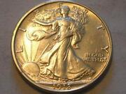 Walking Liberty Half Dollar AU