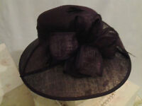 Black Ascot Hat in STOCK ORDER YOUR'S TODAY!