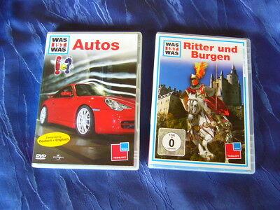 Was ist Was  Autos und Was ist Was Ritter und Burgen 2 DVD's online kaufen