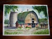 Barn Watercolor