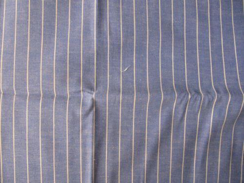 Blue Ticking Fabric Ebay