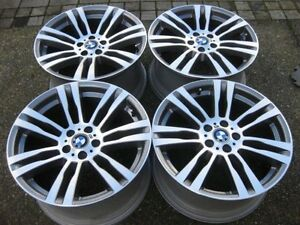 "Set of Genuine OEM BMW X5M 20"" style 333 rims in showroom cond"