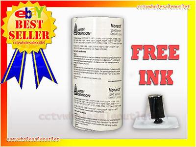 Genuine Monarch 1136 White Labels Free Ink