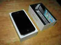 iPhone 4 with box - like New - VIRGIN & BELL