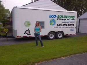 ECO-SOLUTIONS SPRAY FOAM INSULATION AND PEST CONTROL Kingston Kingston Area image 1