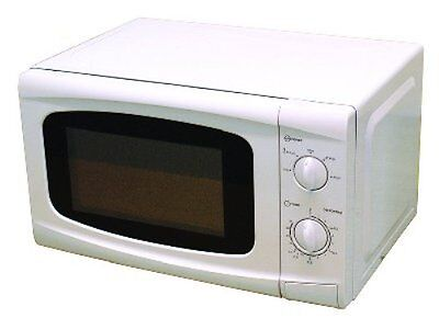 LEISUREWIZE LOW WATTAGE 700W 20L WHITE MICROWAVE OVEN campervan caravan LWACC426