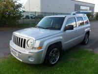 JEEP PATRIOT LIMITED DIESEL 4X4 MANUAL 5 DOOR 60000 MILES £57 PER WEEK