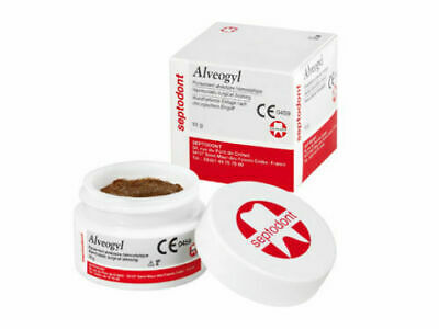 Alvogyl Septodont Alveogyl Paste Dry Socket Treatment Dental Material 10 Gm