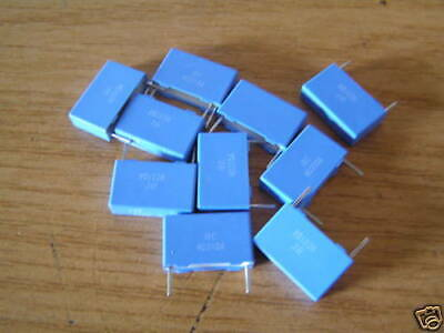 Philips Polyester Capacitor Mkt373 100nf 400v 10 Pieces Ol0420
