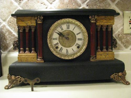 Ingraham Clock Ebay