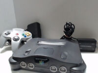 Nintendo 64 N64 Console Bundle 6 games MRC Lylat Wars F1 MI SW Racer Turok PAL